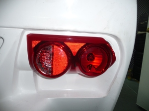 Finished tail light install