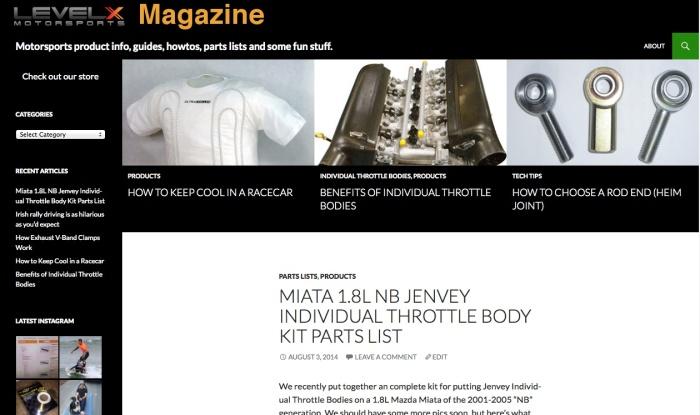 Level X Motorsports Magazine